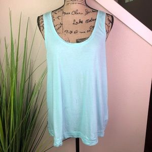 Two by Vince camuto light blue tank